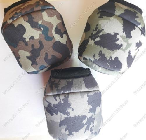 Capa para carretilha perfil baixo kit camuflado