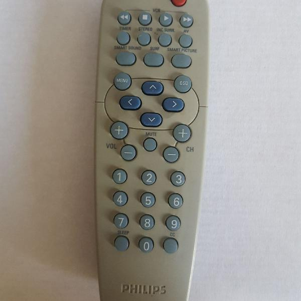 Controle remoto tv philips pt