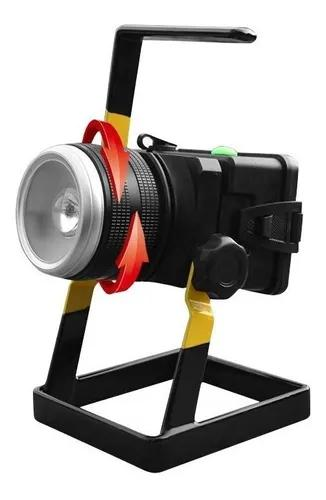 Holofote Portátil Recarregável Led 50w