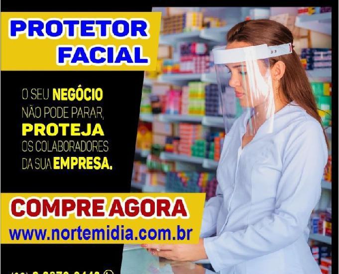 Kit 50 un máscara de proteção facial