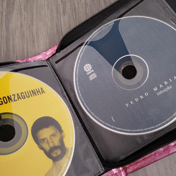 Kit com 13 cds de música