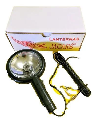 Lanterna farol silibim cibié jacaré c/garra caça e pesca