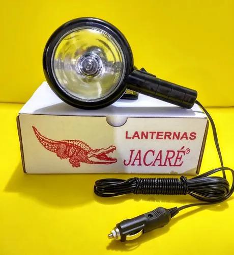 Lanterna farol silibim jacaré com plugue carro h3 12v