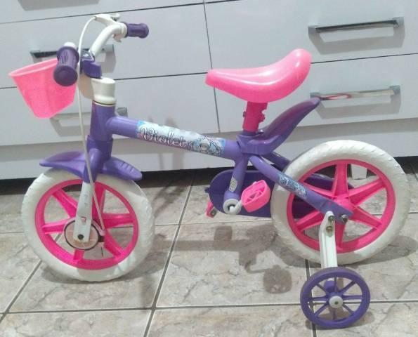 Linda ? bike infantil nathor violet aro 12