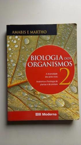 Livro biologia dos organismos 2 editora moderna c361