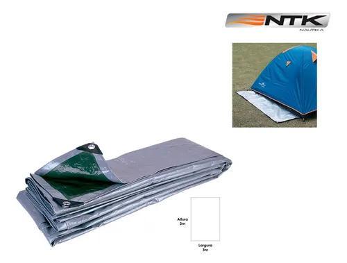 Lona capa multiuso camping impermeável reforçada 3x3 m ntk