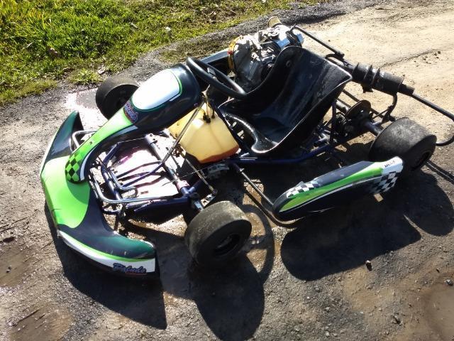 Mini kart 2011 motor 18 hp