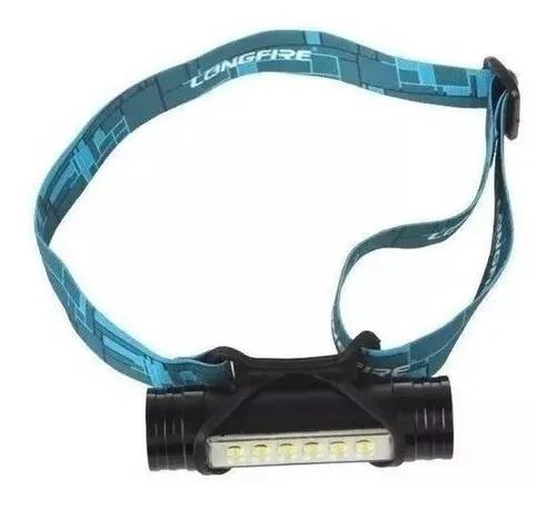 Mini lanterna cabeça power bank usb led cree q5