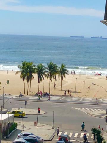 Vista mar copacabana em um lindo apt