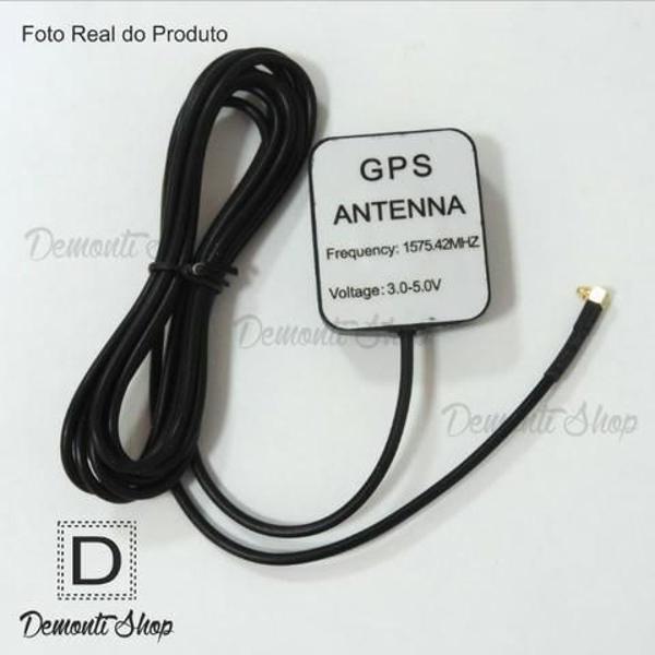 antena gps plug sma 90 graus multimidia rastreadores