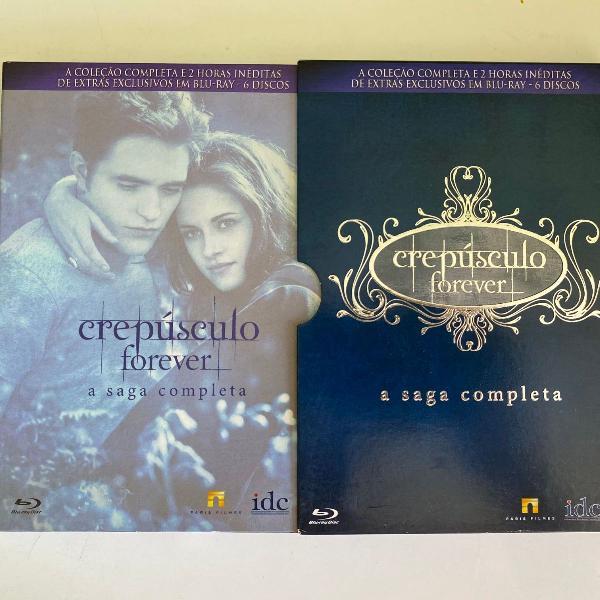 Box crepúsculo forever - a saga completa (6 discos em