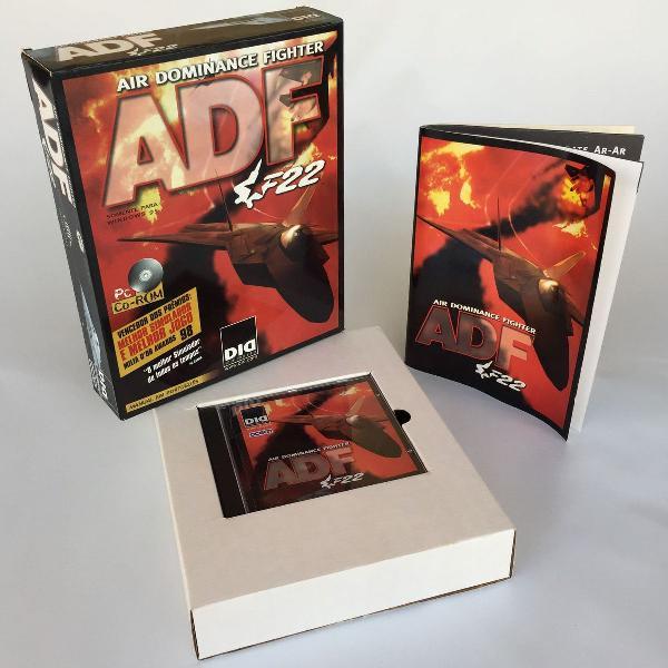 Caixa berço manual e porta cd original jogo adf f22 para