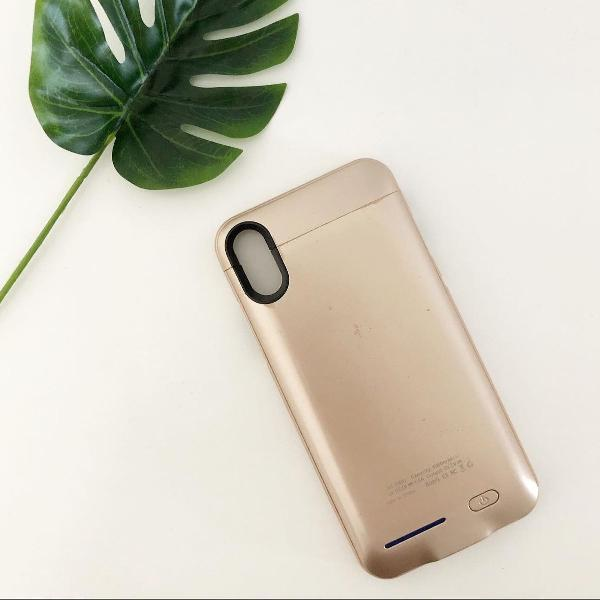 Capa carregadora iphone x xs mah4000