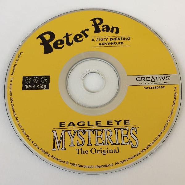 Cd jogo peter pan story painting adventure & eagle eye