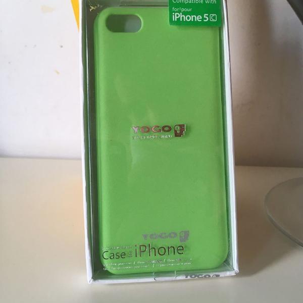 Iphone 5c apple case silicone