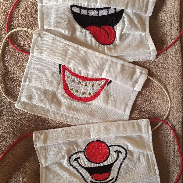 Kit máscaras artesanais