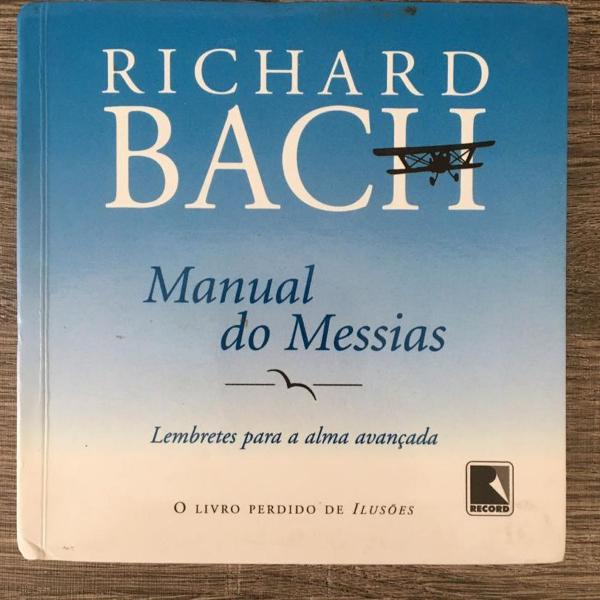 Livro o manual do messias - richard bach