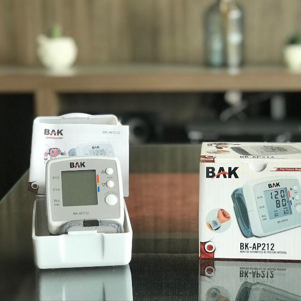 Monitor automático de pressão arterial de pulso bk-ap212