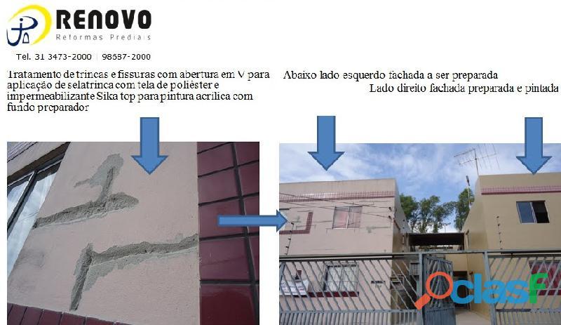 Pintura de Fachadas Belo Horizonte 1