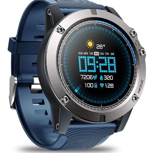 Smartwatch zeblaze vibe 3 pro azul - envio imediato