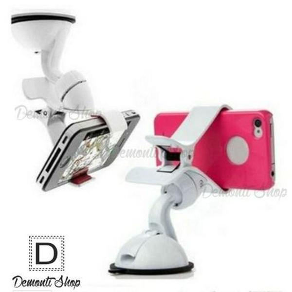 Suporte veicular universal p/ celular iphone gps 360º