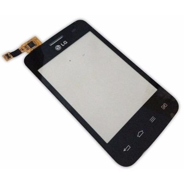 Tela touch screen para celular lg optimus l3 e435 - branco