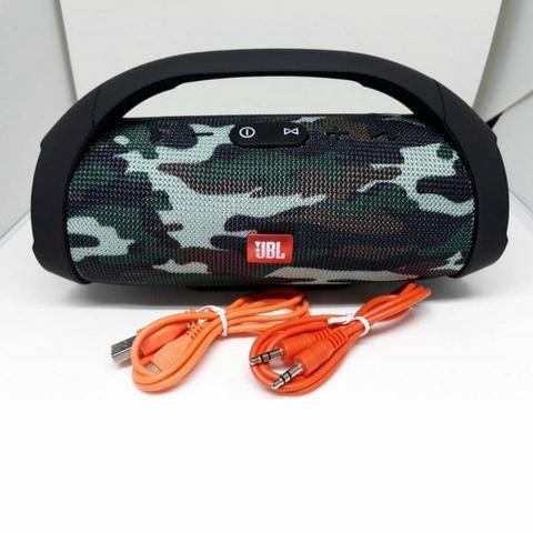 Boombox mini jbl - usb, sd, fm, microfone, 40 watts de