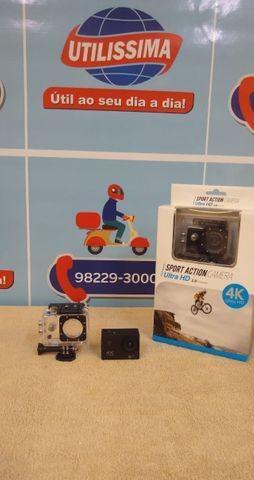 Câmera action go cam pro ultra 4k sport wifi *
