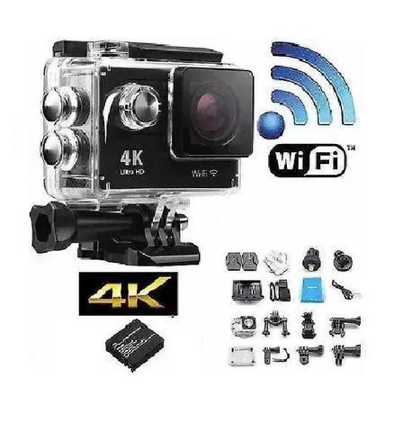 Câmera filmadora esportiva 16mp hd wi-fi prova dágua