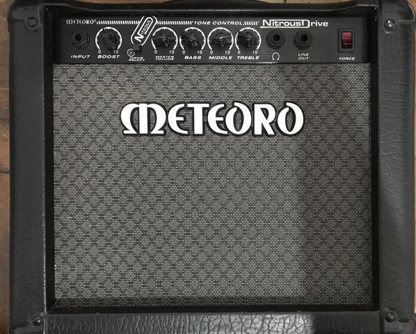 Cubo amplificador guitarra nd15 nitrous drive 15w meteoro