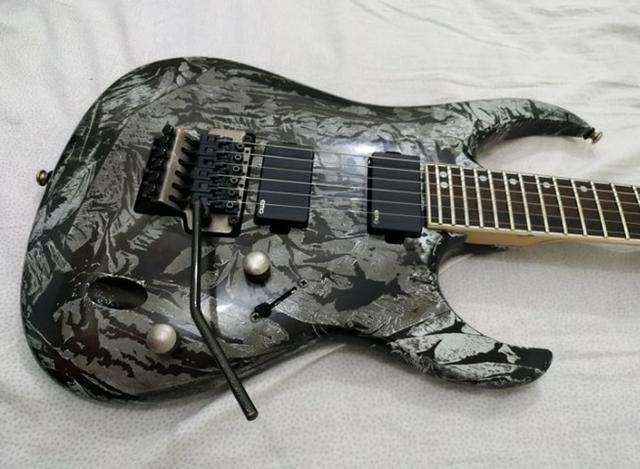 Guitarra cort viva gold 03 com cordas novas da elixir 09 -