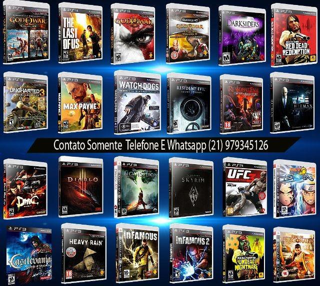 Jogos originais de ps3 playstation 3 entrega imediata todo