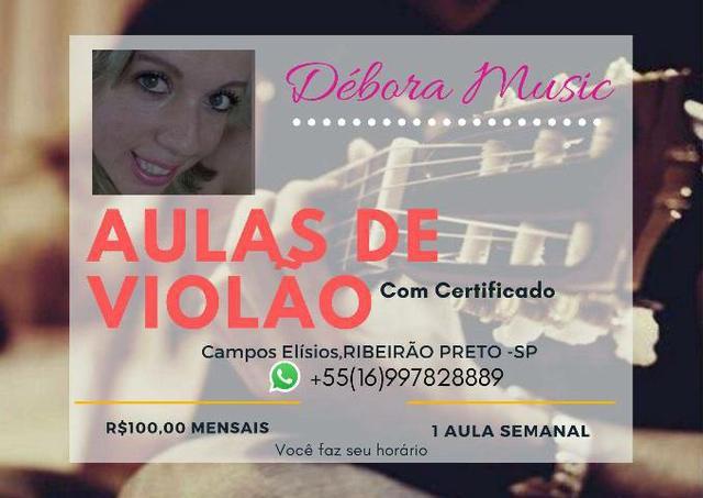 Música aulas de violão, teclado,canto,piano e