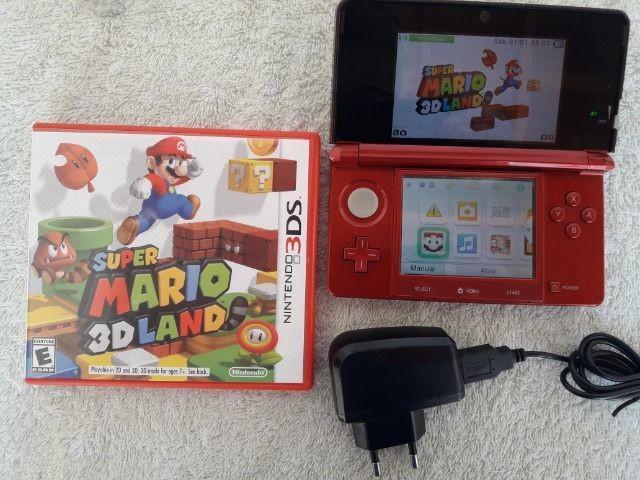 Nintendo 3ds + mario original