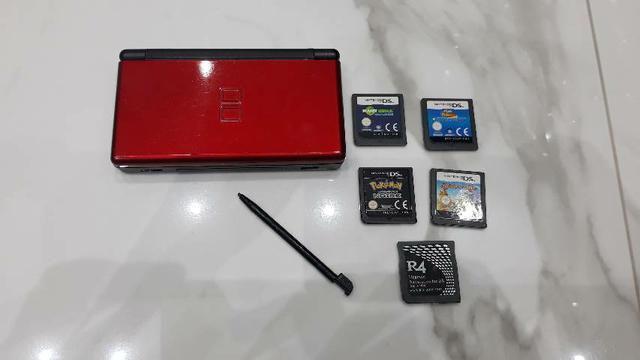 Nintendo ds original + jogos