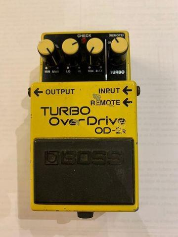 Pedal boss turbo overdrive od-2r