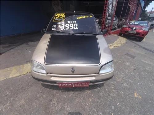 Renault clio 1.6 rt 8v gasolina 4p manual
