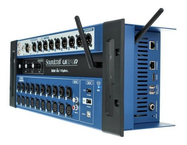 Soundcraft mesa de som digital ui-24 produto novo loja