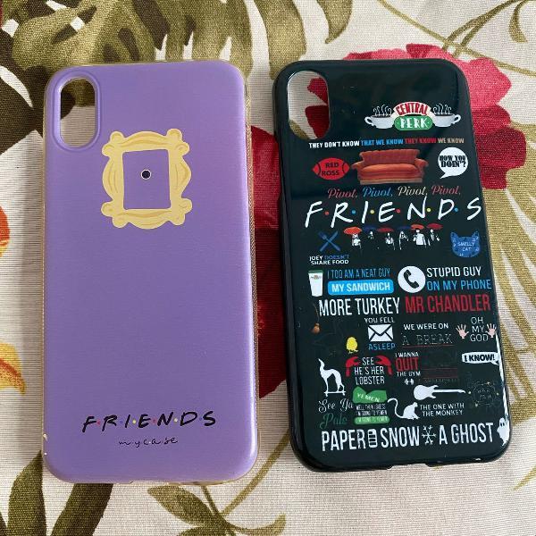 Capinhas friends iphone x ou xs