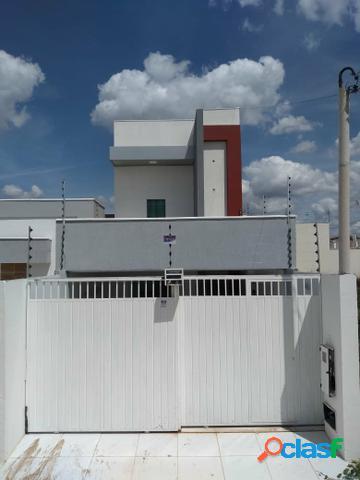 Casa nova duplex 3/4 sendo 02 suítes