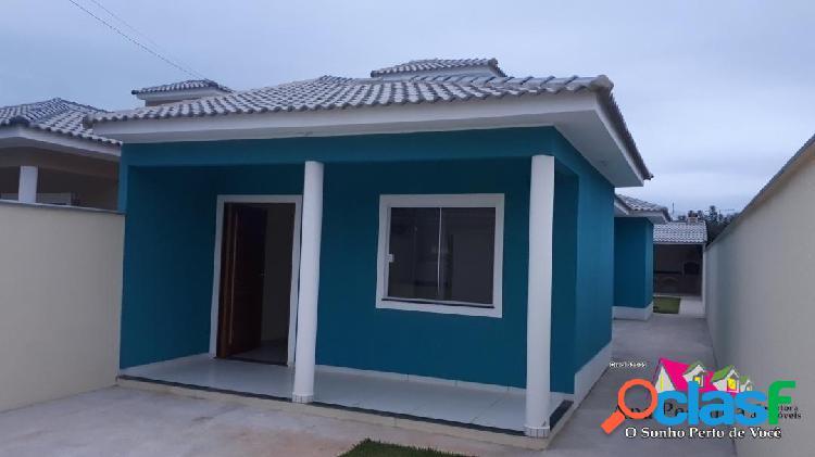 Casa a venda, excelente, 2 dormitórios em itaipuaçú!