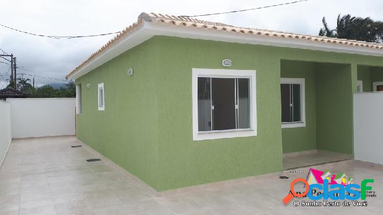 Casa linda a venda, 2 dormitórios em itaipuaçu!