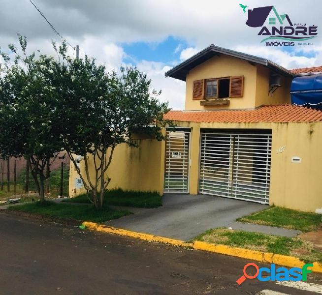 Casa, 190 m², 3 dormitórios, bairro jd vila rica- itai/sp..