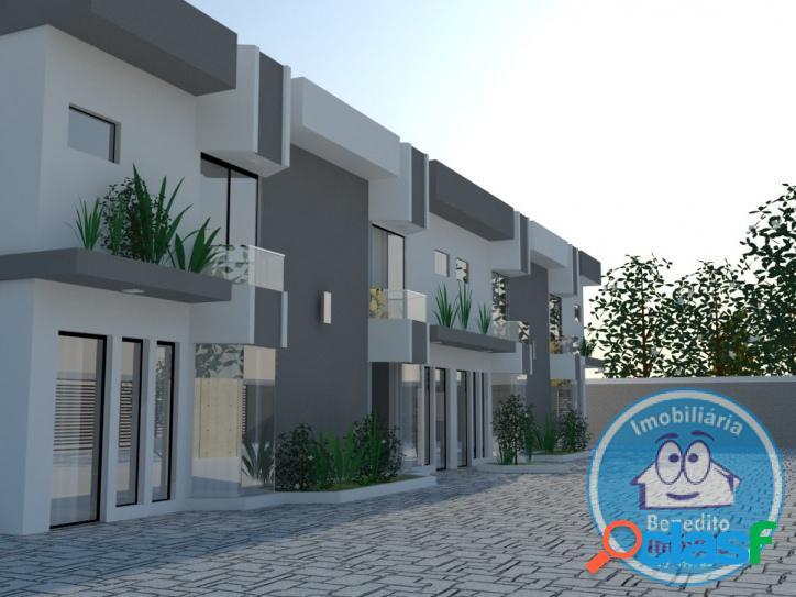 Casas para venda com 02 suítes com padrão luxo
