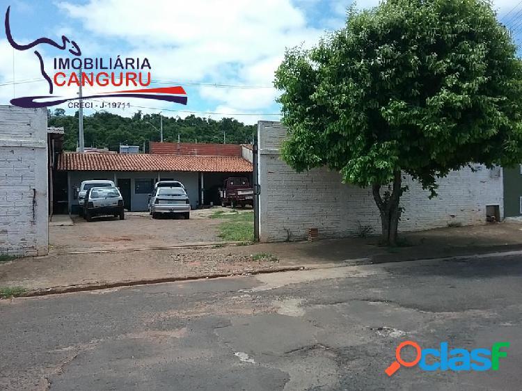 Comercial//residencial 485 m2, jd. nenê motta - piraju - sp