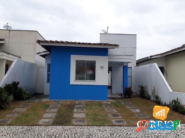 Locação casa 3/4 no sim - cond. residencial ilha de santorini
