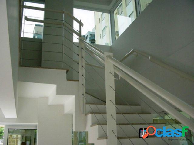 Loft duplex 1 suíte 2 vagas - centro - florianópolis
