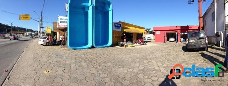 Área comercial sc405 - com área construída e alug