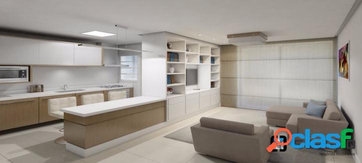 More na av. trompowsky 3 dormitórios (1 suite) /