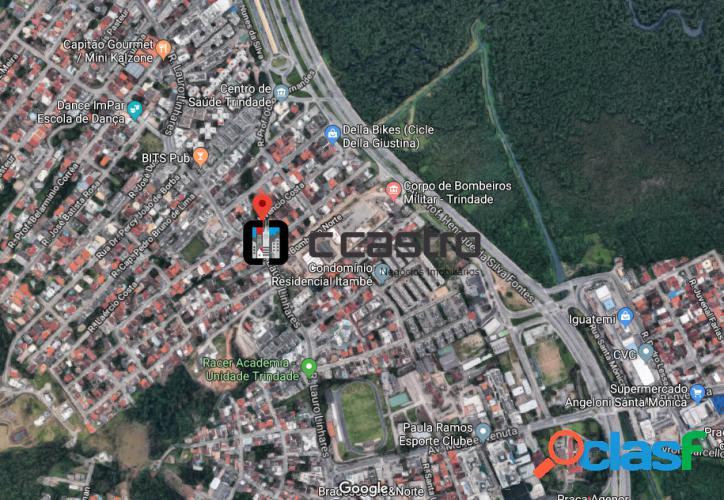 Terreno comercial com 600m² trindade - florianópolis